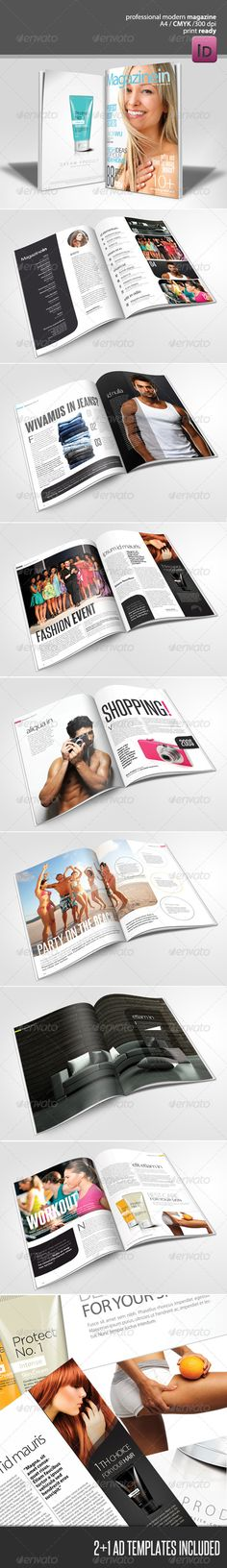 Modern Magazine  - GraphicRiver Item for Sale