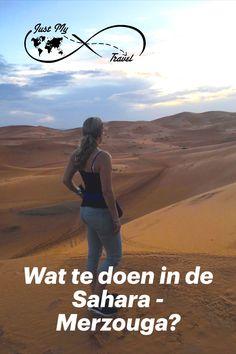 De Sahara bij Merzouga, de plek die je zeker niet over mag slaan tijdens je reis door Marokko