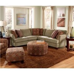 Sectional Sofa...perfect But In Different Colors!