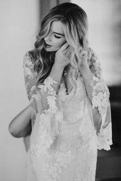 Bell sleeves + lace | Image by Jami Laree