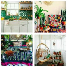 Bedroom Colour Palette, Bedroom Colors, Casa Decor 2017, Spanish Interior, Interior Styling, Interior Design, Green Sofa, Paper Decorations, Color Inspiration