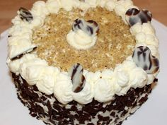 Somlói torta recept lépés 9 foto Sweets, Cookies, Cake, Food, Crack Crackers, Gummi Candy, Candy, Biscuits, Kuchen