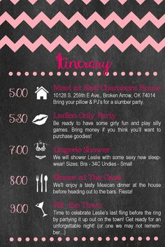 1000 ideas about bachelorette itinerary on pinterest bachelorette weekend bachelorette party. Black Bedroom Furniture Sets. Home Design Ideas