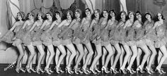 Fanchon and Marco chorus girls at the Shrine Auditorium for a special benefit in 1930.LINK FOR MANY MORE=>http://www.vintag.es/2016/02/50-stunning-vintage-photographs-of-los.html,SITE STATES PUBLIC DOMAIN