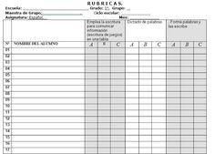 Rubricas para Primer Grado de Primaria con Indicadores de Evaluacion   Planeaciones Gratis