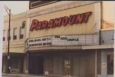 I saw so many movies in the '60s at this theater in Burlington, NC!  Thankfully it has been restored and is used as a live venue these days.