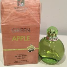 GREEN APPLE BE DELICIOUS EDP 3.4 OZ WOMEN NEW BOX 100 % Authentic GREEN SPPLE BE DELICIOUS EDP 100 ml 3.4 FL OZ WOMEN NEW IN BOX DKNY Other