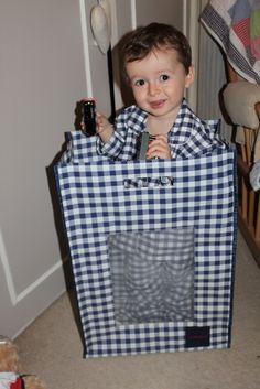Boy in Bag