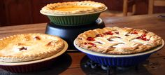 Artisan Pie Plate - Available Spring 2015. Bake Perfect Pie Crusts - flaky and golden.  Learn to bake perfect pie crusts: http://www.emersoncreekpottery.com/wordpress/2015/01/26/valentine-sweetie-pie/
