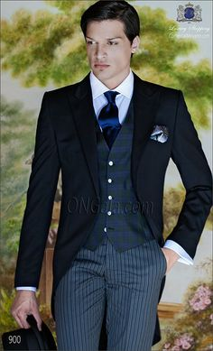 Traje de novio Chaqué negro 900 ONGala Morning suit