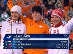Derde Olympisch goud voor Ireen Wüst | Schaatsen