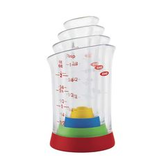 4 Piece Mini Measuring Beaker Set #OXO #SheilaG
