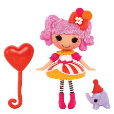 Mini Lalaloopsy Super Silly Party Doll Peanut Big Top