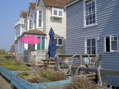 Beachside houses, Whitstable