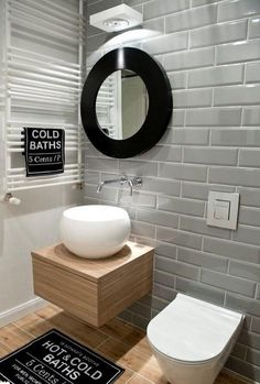November Soul: Bathroom Design Ideas: Dose of stunning interiors, inspiration boards and design. Contemporary Bathroom Designs, Contemporary Decor, Contemporary Cottage, Contemporary Chandelier, Contemporary Stairs, Kitchen Contemporary, Contemporary Apartment, Contemporary Wallpaper, Contemporary Landscape