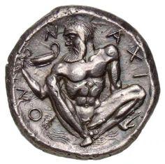 SILENUS, ITHYPHALLIC. DIONYSUS, GOD OF ECSTACY.