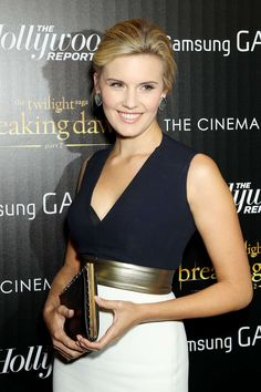 Maggie Grace + Color-Blocked Gown
