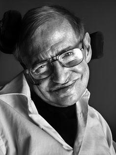 Siephen Hawking - Walter Schupfer Management - Photographers : Marco Grob