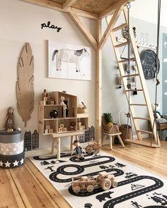 34 Unique Scandinavian Kids Bedroom Design To Make Your Daughter Happy - Modul Home Design Kids Bedroom Designs, Kids Room Design, Playroom Design, Baby Bedroom, Bedroom Decor, Bedroom Ideas, Childrens Bedroom, Bedroom Lighting, Modern Bedroom
