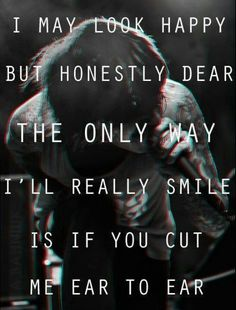 One of my favorite quotes from BMTH of all time!