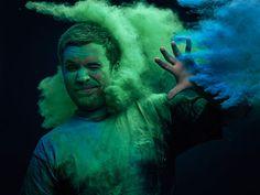 Ars Thanea Portraits, de la poudre colorée et des photos saturées