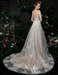 The Classic Bride Affordable Wedding Dresses, Chantilly Lace, Designer Gowns, Corsage, Wedding Designs, Wedding Gowns, Bodice, Evening Dresses, Bridesmaid