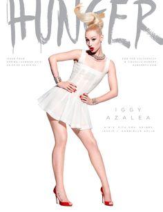 Rita Ora, Jessie J, Iggy Azalea and More Cover HUNGER Magazine #4 | Fashion Gone Rogue: The Latest in Editorials and Campaigns