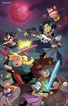 Disney Xd, Disney Plus, Disney Fan Art, Disney Cartoons, Cartoon Fan, Disney Addict, Owl House, Anime Demon, Disney Drawings