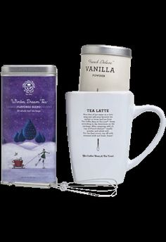 Winter Dream Tea Latte from Coffee Bean and Tea Leaf