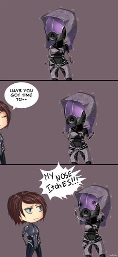 Commission:Troubles of Tali by Sch-G.deviantart.com on @deviantART
