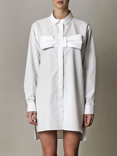 cute spin on the shirt dress look! + 50% off