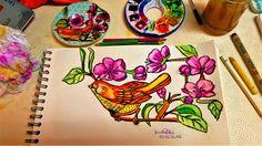 GALERIA DE PINTURAS: O pássaro...