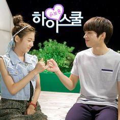 Kim Sae Ron 김새론 & Nam Woo Hyun 남우현 #highschoolloveon
