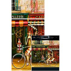 @Overstock - Change the look of your kitchen appliances, brightening them up with this Girlfriends in Paris artistic appliance cover. The cover sticks to the appliance's surface using a magnetic backing or adhesive strips, instantly transforming its appearance.http://www.overstock.com/Home-Garden/Appliance-Art-Girlfriends-in-Paris-Combo-Appliance-Cover/6227778/product.html?CID=214117 $85.99