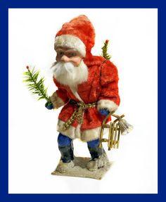 █ Vintage Santa - Belsnickle - Nikolaus █ (# 5273)