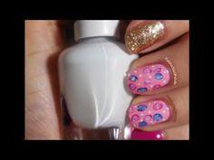 أسهل طريقة لرسم الورود على الاظافر - تفاحة -  NAIL ART ROSE- TOFAHA Art Rose, Nail Art Designs, Nail Polish, Nails, Finger Nails, Ongles, Nail Polishes, Manicure, Nail