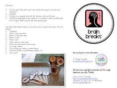 Brain-Breaks-229497 Teaching Resources - TeachersPayTeachers.com