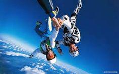 AAAAH! sky diving ... nuf said