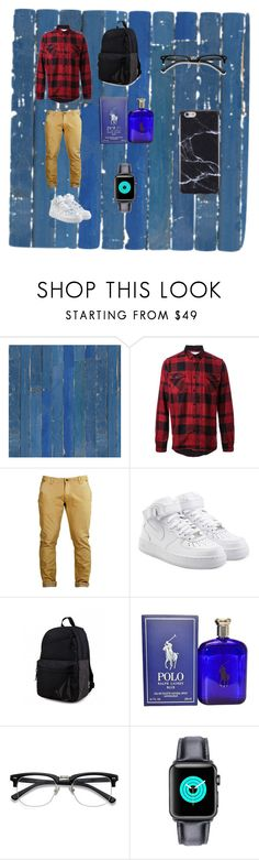 """""""Sexy beast"""" by cece0723 ❤ liked on Polyvore featuring NLXL, Sacai, NIKE, Volcom, Ralph Lauren, FingerPrint Jewellry, men's fashion and menswear"""