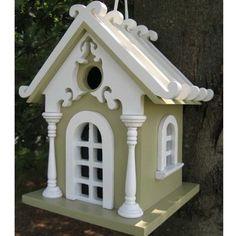 Fairy Cottage Hanging Bird House | Yard Envy