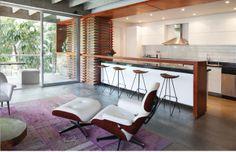 La delicadeza del Concreto. Una remodelación en el edificio Hábitat de Cali apuesta por la recuperación de la esencia original del diseño, libre de adornos superfluos, y por la audaz combinación de estilos y materiales.