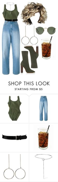 """5:45 pm"" by georgia78 ❤ liked on Polyvore featuring Étoile Isabel Marant, Black & Brown London, YEEZY Season 2, STELLA McCARTNEY, Eddie Borgo and Ray-Ban"
