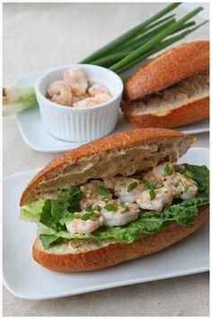 Dinner For Two: Shrimp Po Boys