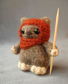 awwww!! it's a little ewok!!! super cute