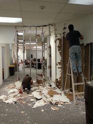 Demolición muro curvo existente #oficinainbest