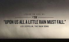 zeppelin. one of my favorite lyrics: