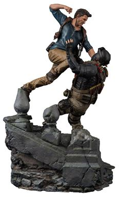 Uncharted 4 A Thief's End Diorama 1/6 Nathan Drake 51 cm