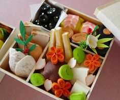 Quilled Japanese Bento Box Quilling