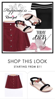 """""""Rosegal 54"""" by aazraa ❤ liked on Polyvore"""