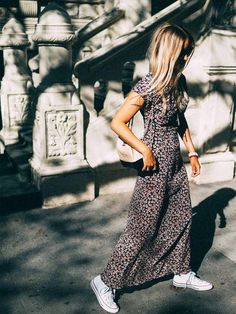 How do you wear a maxi dress and still look modern? We've selected the chicest street style stars on how to wear a maxi dress right now.